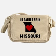 Id Rather Be In Missouri Messenger Bag