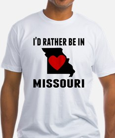 Id Rather Be In Missouri T-Shirt