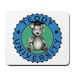Teddy University Mousepad