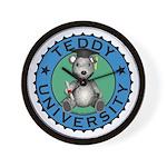 Teddy University Wall Clock
