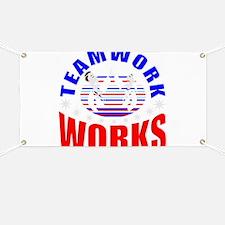 Patriotic teamwork Banner