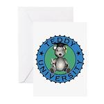 Teddy University Greeting Cards (Pk of 10)