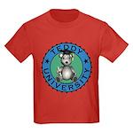 Kid's Teddy University Tee-Shirt Dark Colored