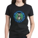 Women's Teddy University T-Shirt Dark Colored