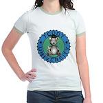 Teddy University Jr. Ringer T-Shirt