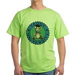 Green Teddy University Tee-Shirt