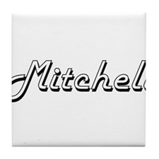 Mitchell Classic Style Name Tile Coaster