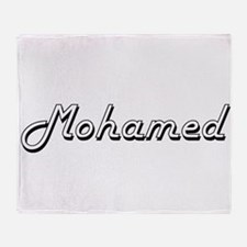 Mohamed Classic Style Name Throw Blanket