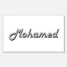 Mohamed Classic Style Name Decal