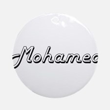 Mohamed Classic Style Name Ornament (Round)