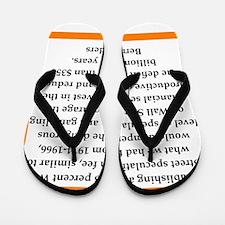 bernie sander quote Flip Flops
