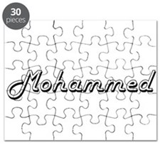 Mohammed Classic Style Name Puzzle