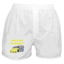 RENTED.png Boxer Shorts