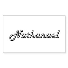 Nathanael Classic Style Name Decal