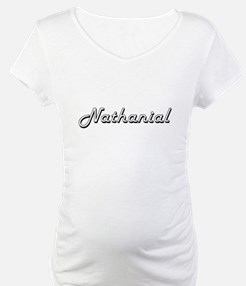 Nathanial Classic Style Name Shirt