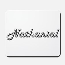 Nathanial Classic Style Name Mousepad