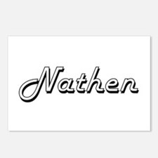Nathen Classic Style Name Postcards (Package of 8)
