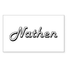 Nathen Classic Style Name Decal