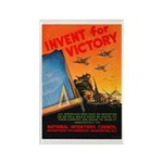 Invent for Victory Rectangle Magnet (10 pack)