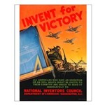 Invent for Victory Small Poster