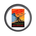 Invent for Victory Wall Clock