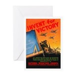 Invent for Victory Greeting Card