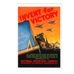 Invent for Victory Postcards (Package of 8)