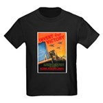 Invent for Victory (Front) Kids Dark T-Shirt
