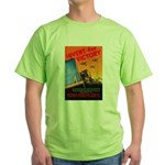 Invent for Victory (Front) Green T-Shirt