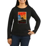 Invent for Victory (Front) Women's Long Sleeve Dar