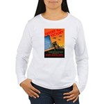 Invent for Victory (Front) Women's Long Sleeve T-S