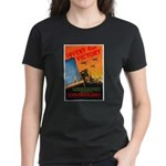 Invent for Victory (Front) Women's Dark T-Shirt