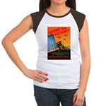 Invent for Victory (Front) Women's Cap Sleeve T-Sh
