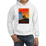 Invent for Victory (Front) Hooded Sweatshirt