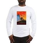 Invent for Victory (Front) Long Sleeve T-Shirt