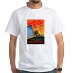 Invent for Victory White T-Shirt