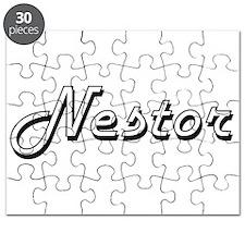 Nestor Classic Style Name Puzzle