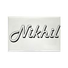 Nikhil Classic Style Name Magnets