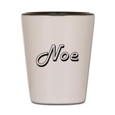 Noe Classic Style Name Shot Glass