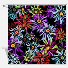 Whimsical Floral Shower Curtain