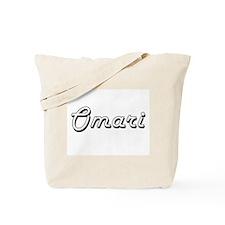 Omari Classic Style Name Tote Bag
