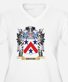 Brodie Coat of Arms - Family Cre Plus Size T-Shirt