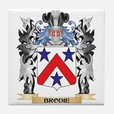 Brodie Coat of Arms - Family Crest Tile Coaster