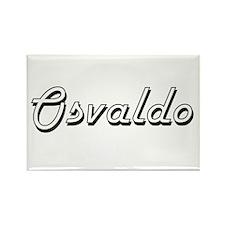 Osvaldo Classic Style Name Magnets
