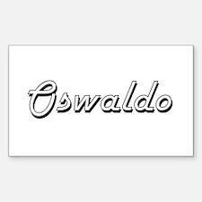 Oswaldo Classic Style Name Decal