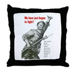 Patriot Just Begun to Fight Throw Pillow