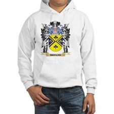Brogan Coat of Arms - Family Cre Hoodie