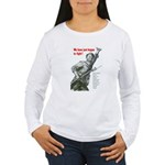 Patriot Just Begun to Fight Women's Long Sleeve T-