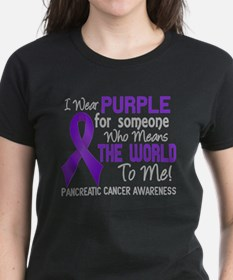 Pancreatic Cancer MeansWorldT Tee