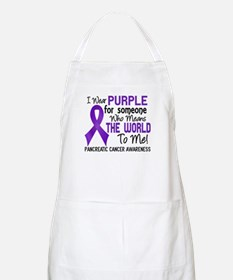 Pancreatic Cancer MeansWorldToMe2 Apron